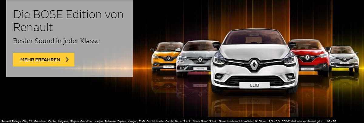 Renault Bose Edition
